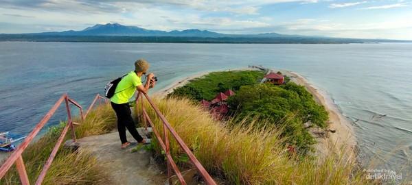 Pesona Pulau Punten bikin betah