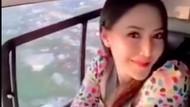 6 Gaya Istri Polisi Viral Pose di Helikopter, Bikin Suaminya Turun Pangkat