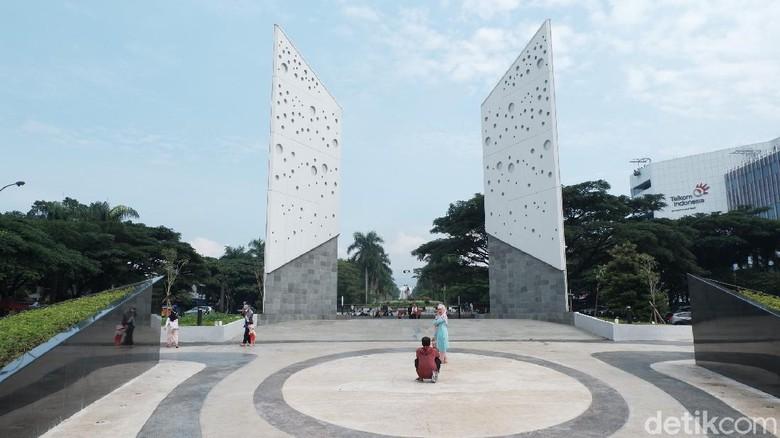 Taman Monumen Perjuangan di Bandung.