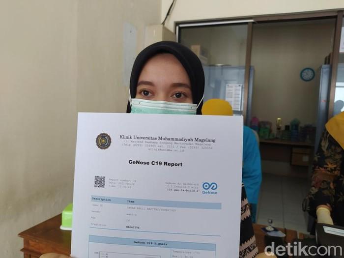 Tes GeNose di Universitas Muhammadiyah Magelang untuk skrining COVID-19