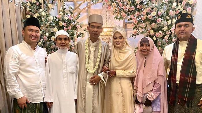 UAS menikah (Instagram UAS)