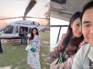 Viral Polisi Ini Turun Pangkat Karena Istri Pamer Helikopter di Medsos