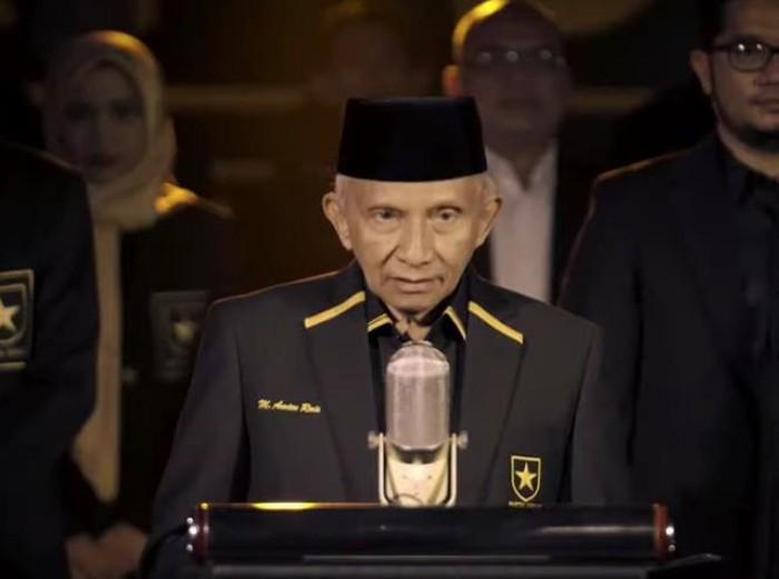 Deklarasi Partai Ummat dipimpin Amien Rais