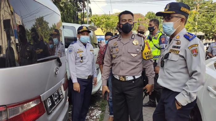 Dishub Kota Semarang sosialissi larangan mudik ke agen travel