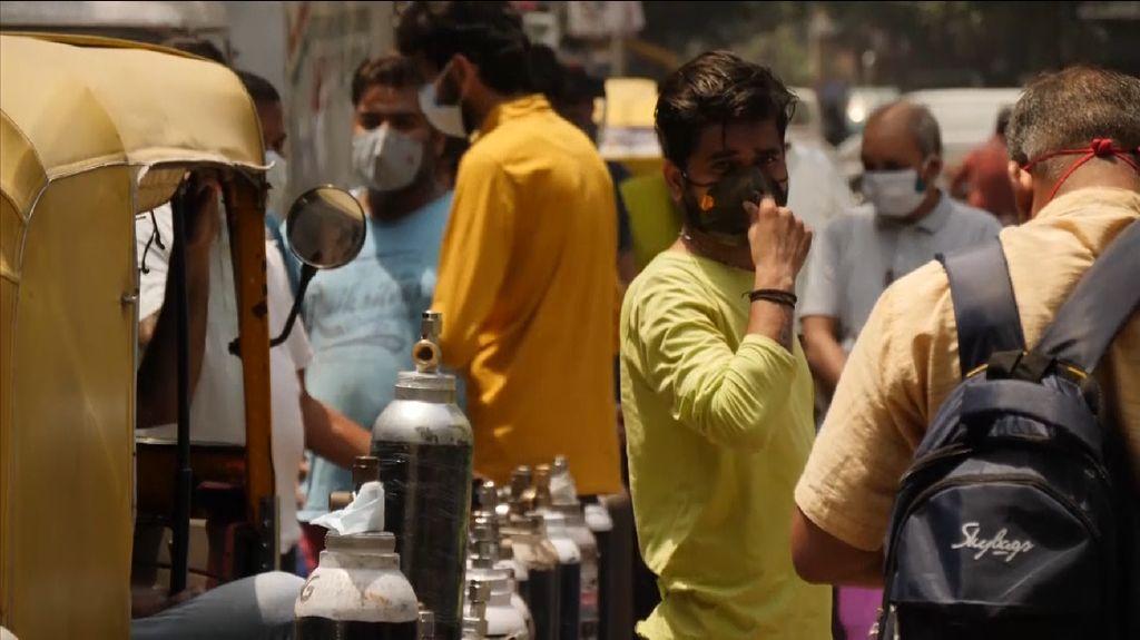 Indonesia Kirim Bantuan 200 Konsentrator Oksigen ke India