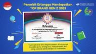 Penerbit Erlangga Raih Top Brand Gen Z 2021 Kategori Buku Pendidikan