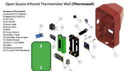 Hebat! Desain Termometer Otomatis Peneliti UI Ini Dibagikan Gratis