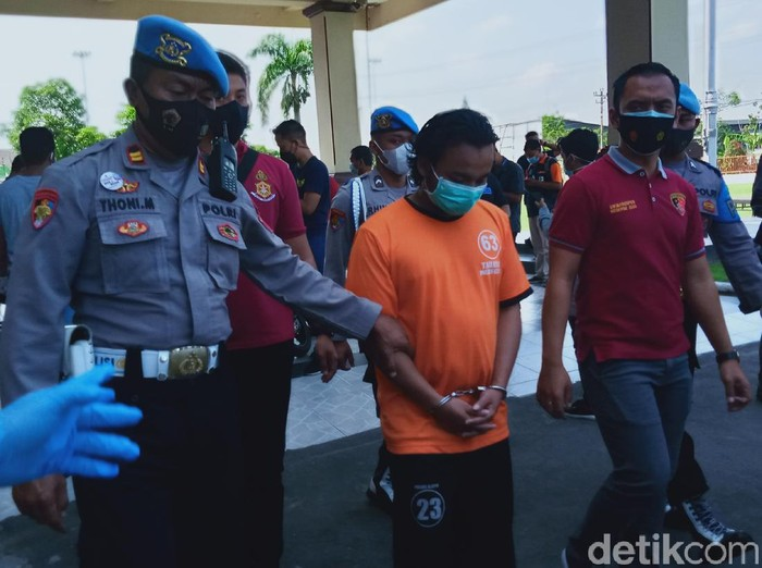 Jumpa pers pembunuhan pemuda di Klaten, Kamis (29/4/2021).