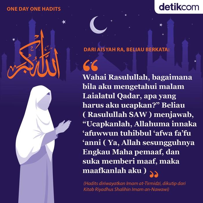 One day One Hadits Doa malam Lailatul Qadar