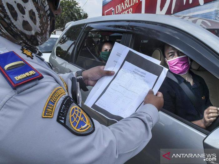 Pemeriksaan Dokumen Pemudik