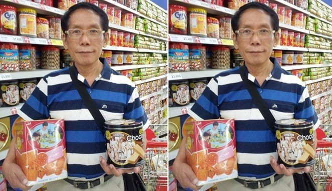 Fakta Menarik Sosok di Balik Gambar Kaleng Biskuit Khong Guan