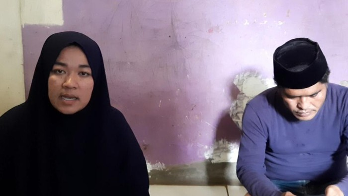 Wati yang viral usai tuding tetangga babi ngepet (Rahmat Fathan-detikcom)