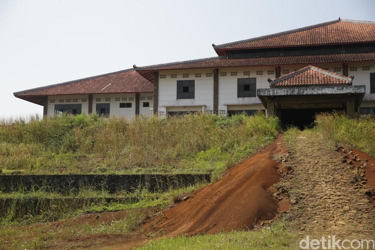 Kampung Shaolin, salah satu eksisting di lokasi bakal Bukit Algoritma, Cikidang, Sukabumi.