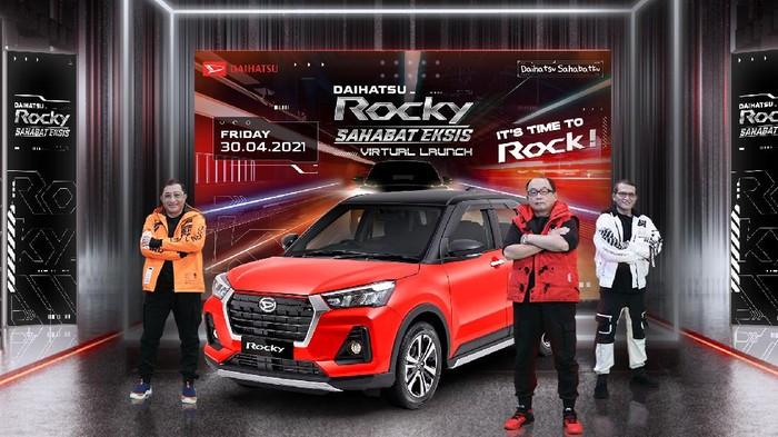 Daihatsu Rocky meluncur di Indonesia