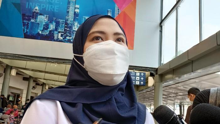 Kepala Humas PT KAI Daop 1 Jakarta Eva Chairunisa (Foto: Karin/detikcom)