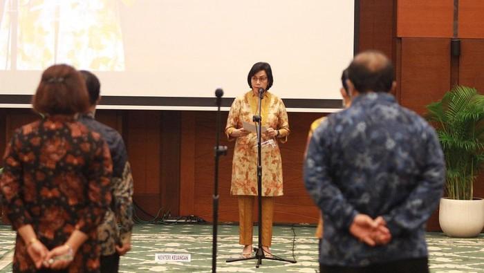 Menkeu Sri Mulyani Indrawati lantik pejabat Kementerian Keuangan