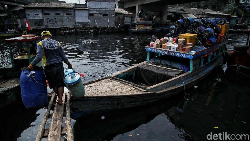 Nelayan Cilincing Mudik Lokal Pakai Perahu Motor Lho