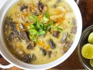 Masak Masak : Resep Soto Betawi Susu yang Gurihnya Mantul