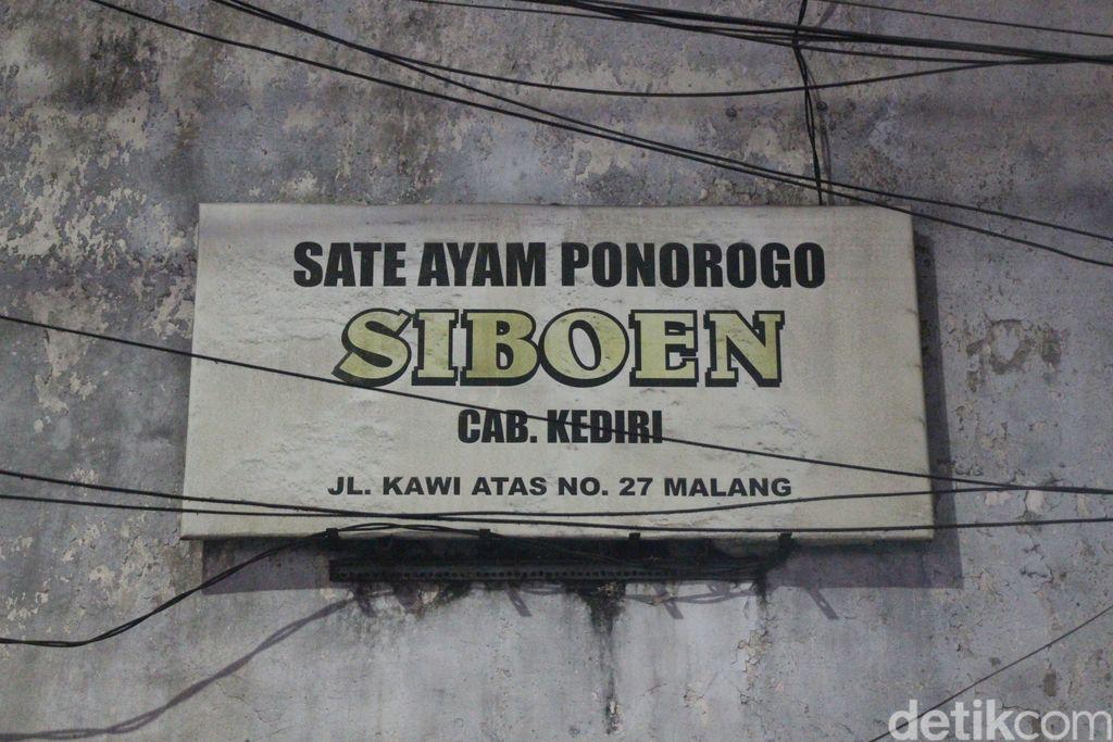 Sate Ayam Ponorogo Siboen Lezatnya Melegenda 82 Tahun