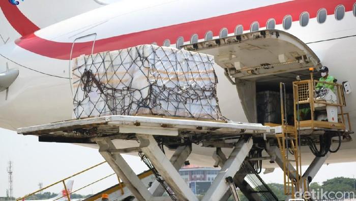 500 ribu vaksin Sinopharm tiba di Bandara Soetta (Dok KBRI Abu Dhabi)
