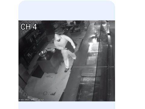 Pencurian di Diablo's Southwest Grill, Georgia.