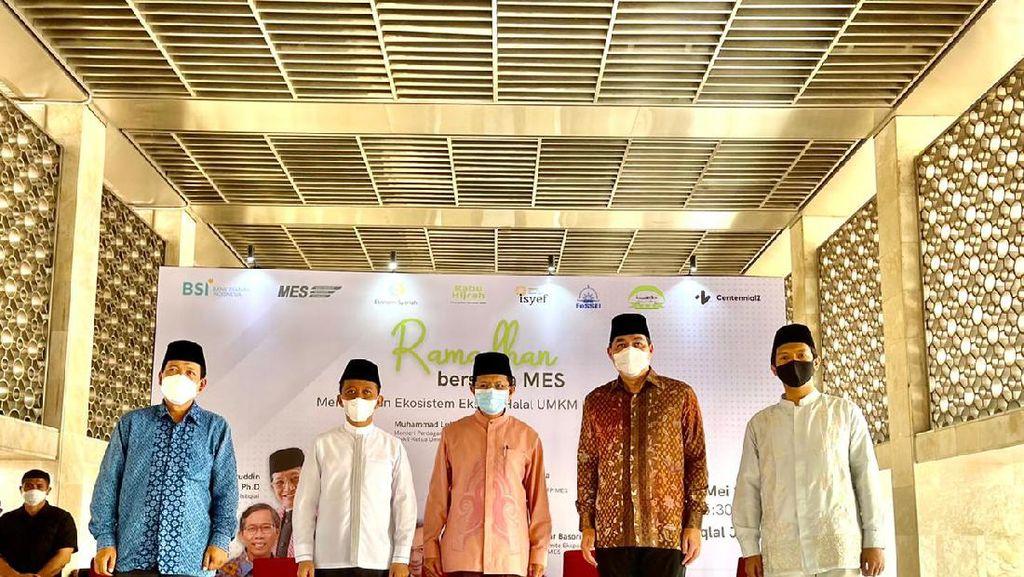 Dua Menteri, MES dan Imam Besar Istiqlal Luncurkan Ekonomi Berbasis Masjid
