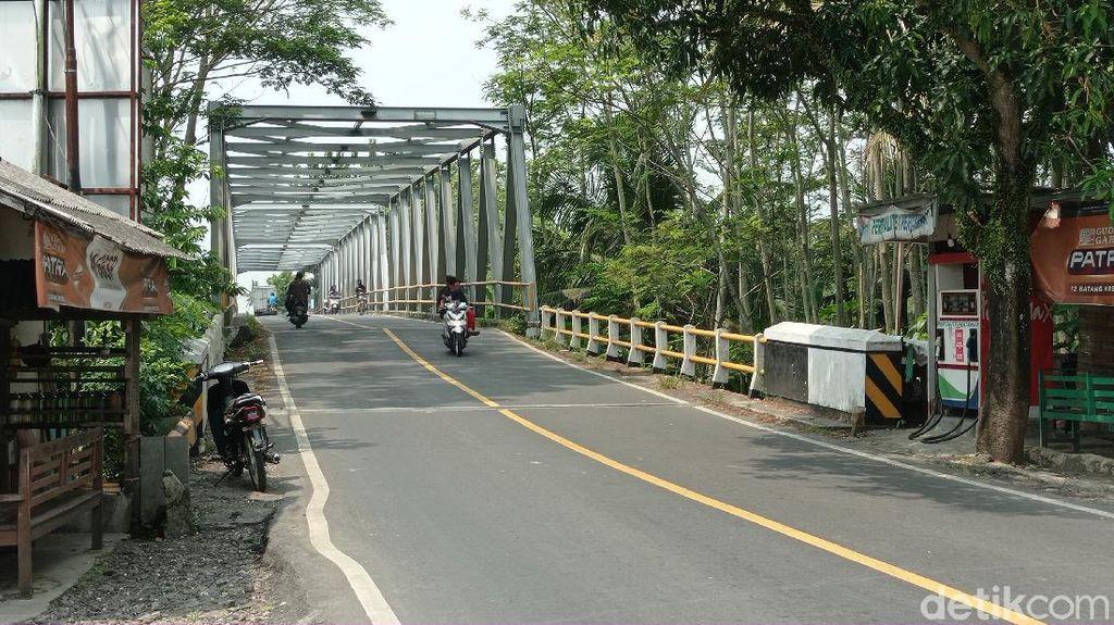 Jalan Alternatif Lintas Provinsi di Pangandaran Sepi Pemudik