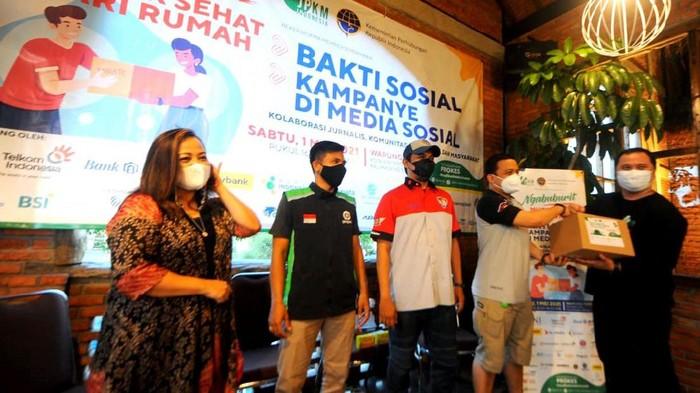 Jurnalis Peduli Kesehatan Masyarakat (JPKM) mendorong pemanfaatan teknologi informasi untuk bersilaturahmi lewat program Mudik Sehat Dari Rumah.