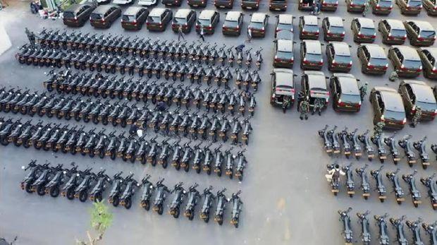 Kendaraan dinas TNI AD