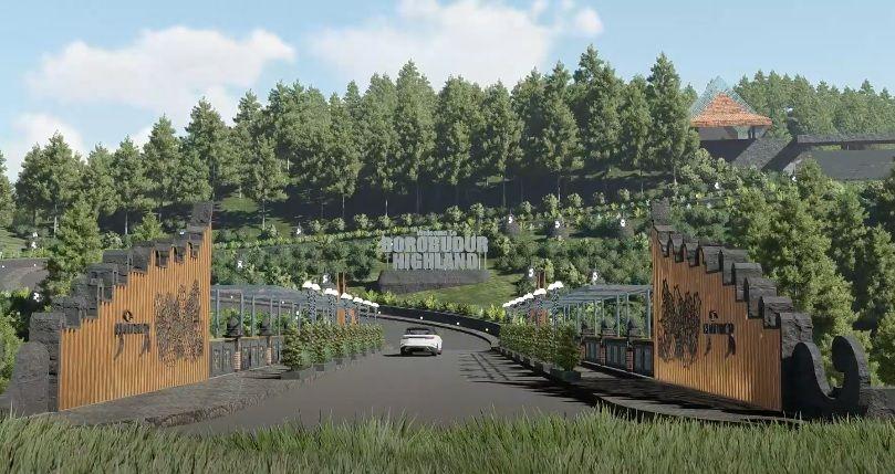 Kawasan Borobudur akan dilengkapi tempat wisata baru yaitu Borobudur Highland. Bagaimana gambaran tempat wisata tersebut? berikut foto-foto masterplannya.