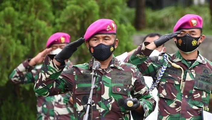 Komandan Korps Marinir Dankormar Mayor Jenderal TNI (Mar) Suhartono (Instagram/ist)