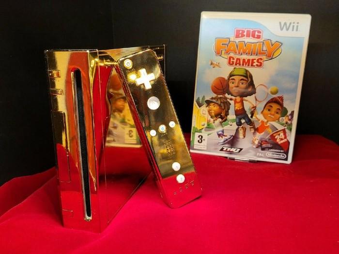 Nintendo Wii emas untuk Ratu Elizabeth