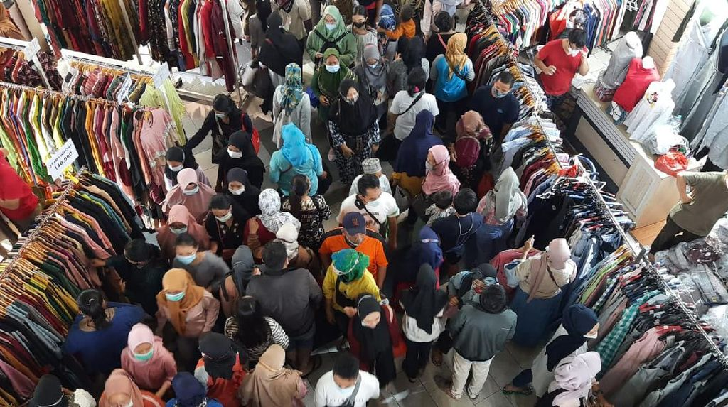Warga Tak Bermasker Dilarang Masuk Pasar di Jakarta!
