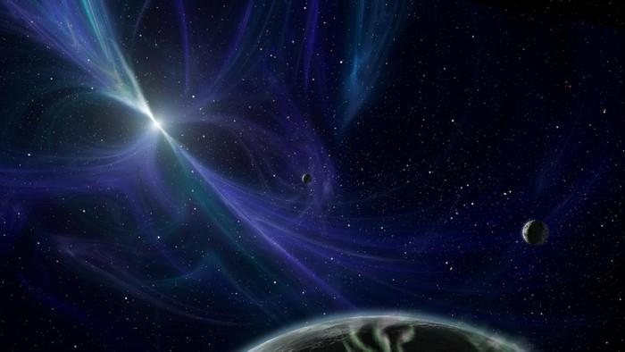 Planet mengerikan di luar angkasa