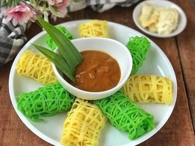 Resep Roti Jala Kuah Durian yang Legit Harum Cocok Buat Takjil
