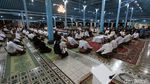 Foto: Malam Selikuran Keraton Solo, Tradisi Sambut Lailatul Qadar