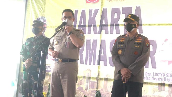 Gubernur DKI Jakarta, Anies Baswedan (Karin/detikcom)