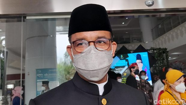 Gubernur DKI Jakarta, Anies Baswedan (Tiara Aliya/detikcom)