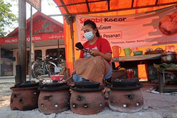 Serabi Kocor Bantul yang Empuk Wangi Jadi Takjil Favorit