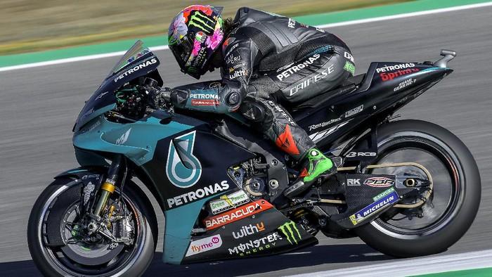 Franco Morbidelli di Kualifikasi MotoGP Spanyol 2021.