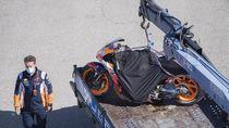 Motor Marc Marquez Rusak, Segini Biaya Perbaikannya