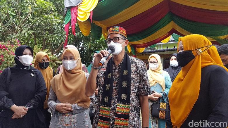 Menparekraf Sandiaga Uno di Aceh