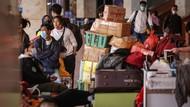 Bandara Soekarno Hatta Ramai Pemudik