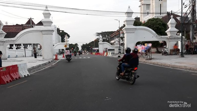Berbagai bangunan bersejarah peninggalan kesultanan Yogyakarta masih terjaga kelestariannya