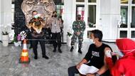 Buruh di Semarang Terima Vaksin-Paket Sembako di Peringatan Hari Buruh