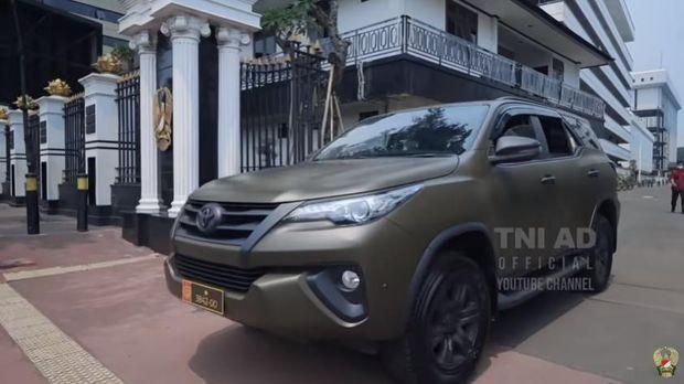 Potret Kendaraan Dinas TNI AD untuk Prajurit