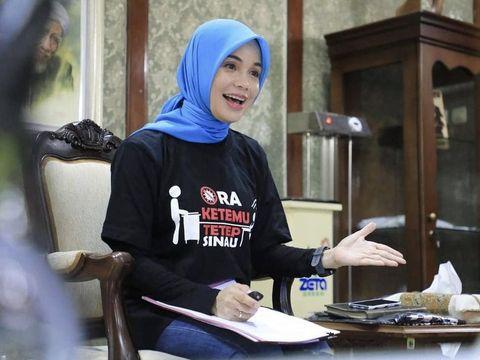 Siti Atiqoh Supriyanti, istri dari Ganjar Pranowo Gubernur Jawa Tengah.