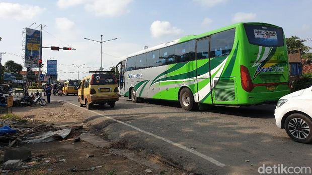 Situasi perbatasan Bekasi-Karawang