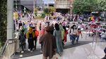 Warga Serbu Kawasan Wisata Belanja Alun-alun Bandung