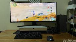 Xiaomi Mi Curved Gaming Monitor 34, Ekonomis tapi Tak Murahan